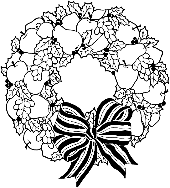 wreath-with-pears