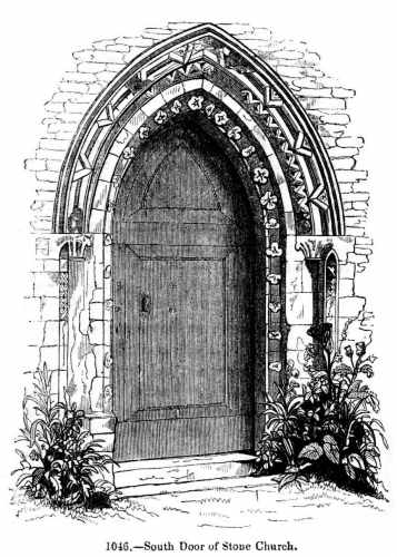 church-door