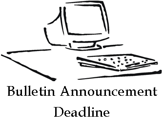 bulletin-announcement