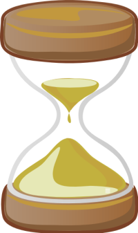 Time And Clocks Clip Art Master Sunday Bulletins
